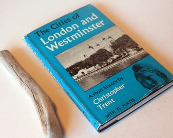 Cities of London and Westminster, Vintage guidebook Retro history city