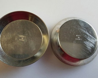 Tin Steel Plain Tart mold - 4 inches - Gobel of France - 24 pieces