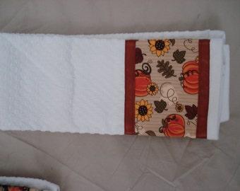 Autumn Tea Towel