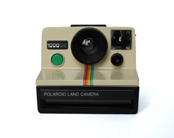 Polaroid 1000SE Land Camera (Rare edition) - green button