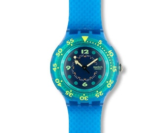 Swatch Blue Moon SDN100  - NEW OLD STOCK - with Original Box