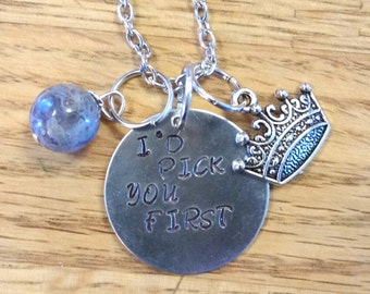 The 100-Clark Griffin Hand Stamped Necklace