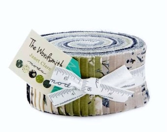 """Moda Jelly Roll """"The Wordsmith"""" by Janet Clare"""