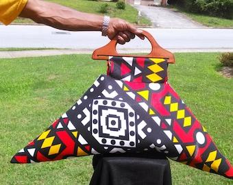 LARGE ANGOLA BAG Ooak overnight bag