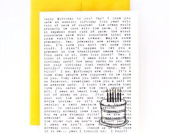 The Birthday Ramble