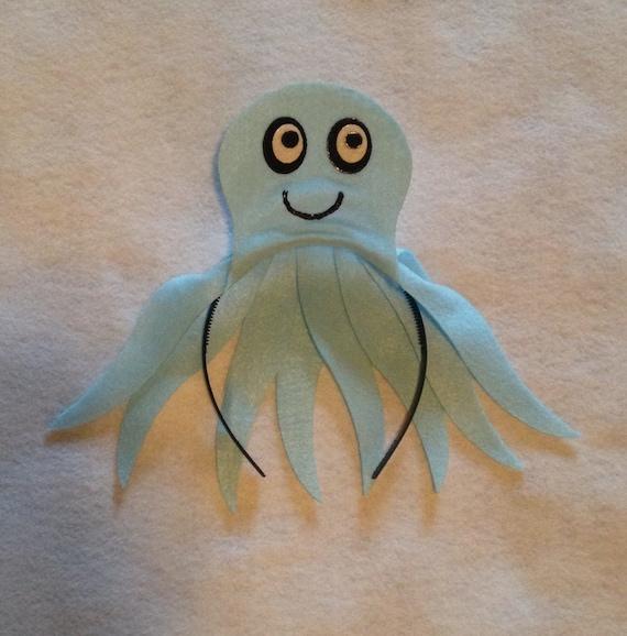 Octopus any color headband Under the sea ocean beach Theme birthday ...