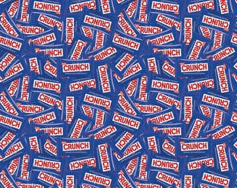 Nestle Crunch Candy Bar Fabric From Springs Creative