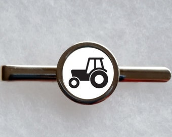 Tractor Tie Clip - can be fully personalised