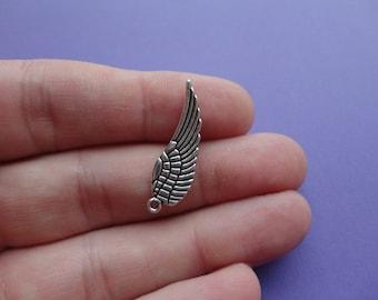 Angel Wing 10 pcs 17x5mm A010