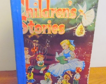 Children's Stories is a hard back book dated 1950