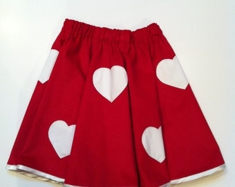 Queen of Hearts Skirt