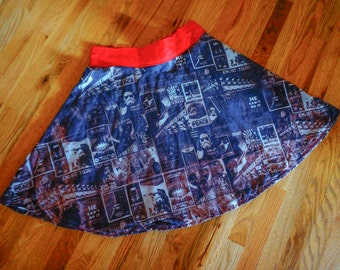 Half Circle Skirt - Personalized with Sun-Dyed Fabric!  With Pockets!!