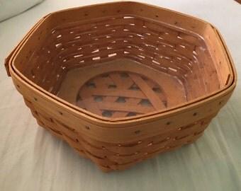 Longaberger Basket handwoven