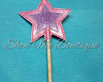Princess Star Wand design Instant Download