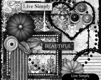 Live Simply (Digital Page Kit)