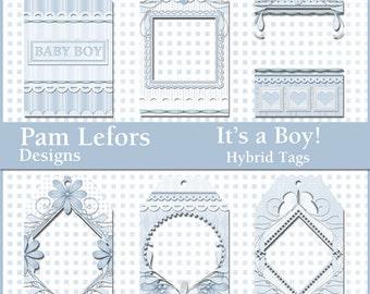 It's a Boy! Hybrid Tags