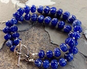 Double Indian Sapphire Bracelet