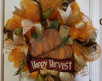 Harvest Fall Wreath
