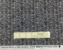 """Remnant 2 Yards Timeless Treasures Black White Cotton Fabric 72"""" x 44"""" R42"""