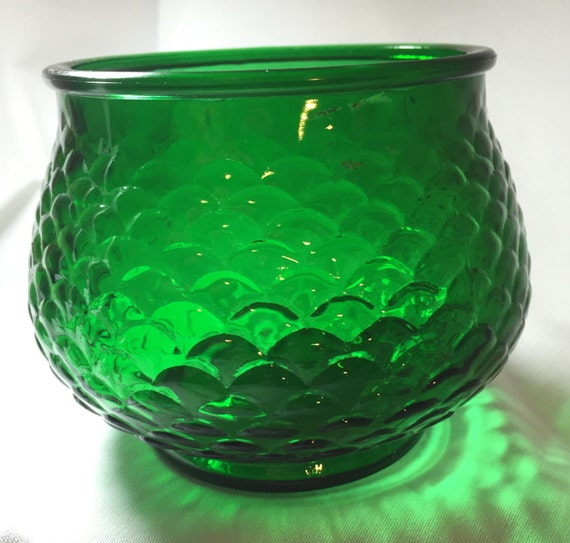 Vintage Eo Brody Company Cleveland Oh Emerald Green Fish Scale
