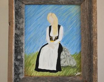 Heimasætan - Icelandic Woman - 11x16