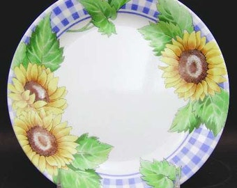 Sunsations (Corelle) by Corning Sunflower Design Side Plate