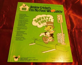 Jiminy Cricket's I'm No Fool With Safety Workbook