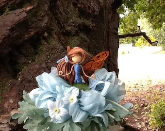 blue Fairy Doll, bendy doll