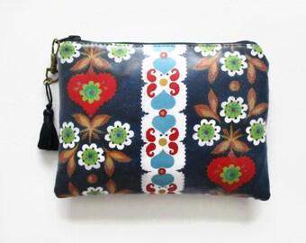 Waterproof Folky Ladies Zipper Bag
