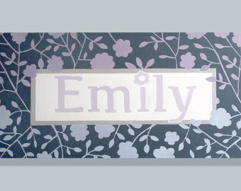 Large Personalized Name Painting