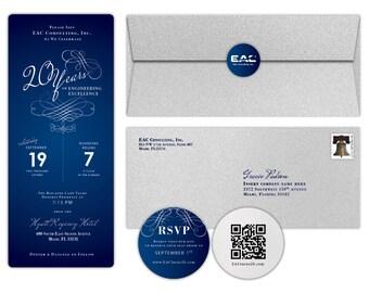 Elegant Corporate Invitation Set
