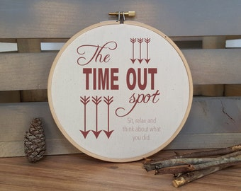 The Time Out Spot hoop