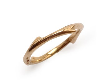 Thorn Ring in Bronze
