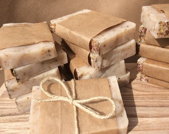 Rose Petal - Organic Soap Bar (unscented)