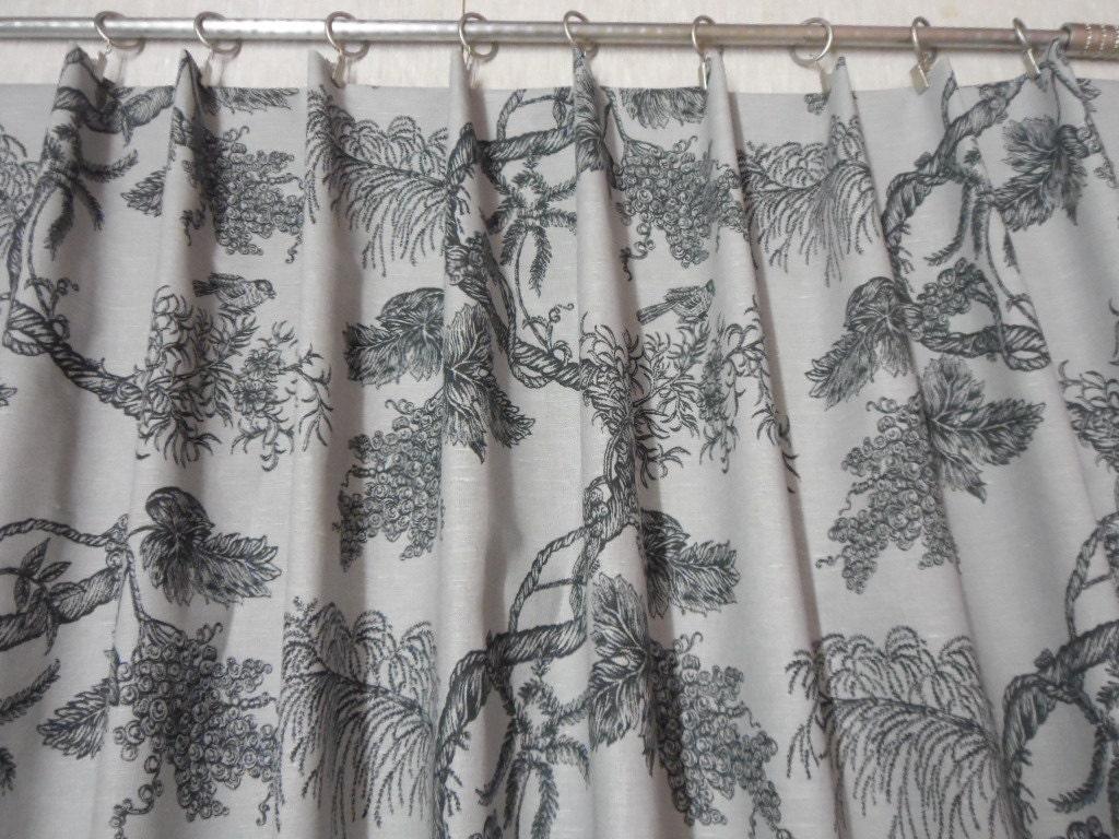 Natural Linen Valance Rod Pocket Curtain Valance Scandinavian