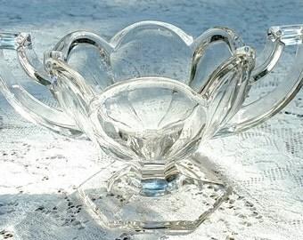 Krys-tol Chippendale Sugar Bowl circa Early 20th Century