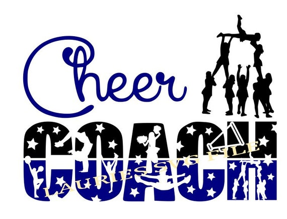 Cheer Coach File Svg Png Jpg And Silhouette From