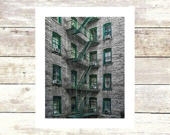 ESCAPE New York City Fine Art Photograph - Limited Edition of 250