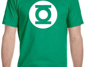 Green Lantern  T-Shirt, Sheldon Cooper