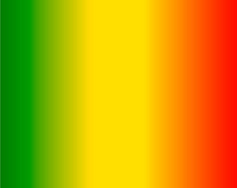 Green, yellow and red Ombre print craft  vinyl sheet - HTV or Adhesive Vinyl -  fade gradient print vinyl  HTV3119