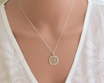 Large Shema Israel silver pendant , silver shema israel Necklace,shma israel necklace, Jewish jewelry, Judaica jewelry, bat mitzva gift