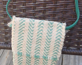 Woven pouch or coin purse