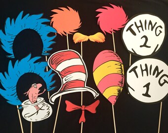 Dr. Seuss Themed Photo Booth Props