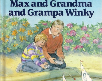 Danielle Steel Book Max and Grandma and Grandpa Winky