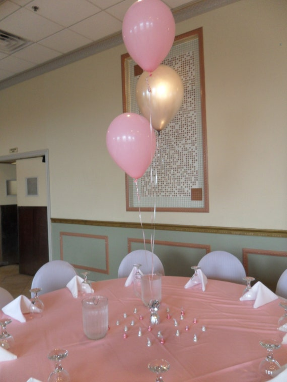 Items similar to baptism christening balloon centerpiece