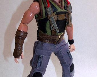 Custom 1/6th Scale Bane Figure