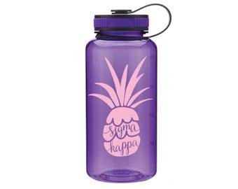 SK Sigma Kappa Pineapple Water Bottle
