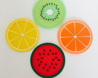 Handmade table coasters | Etsy