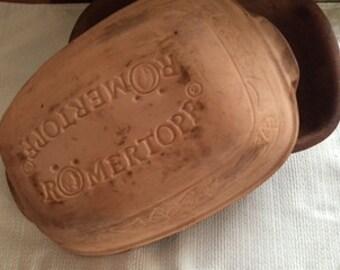 ROMERTOPF clay Fish or Roaster
