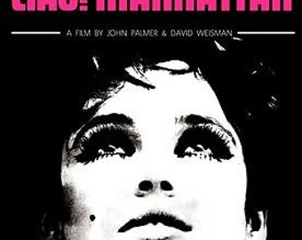 Ciao! Manhattan Edie Sedgwick Warhol Star A3 Film Poster Reprint